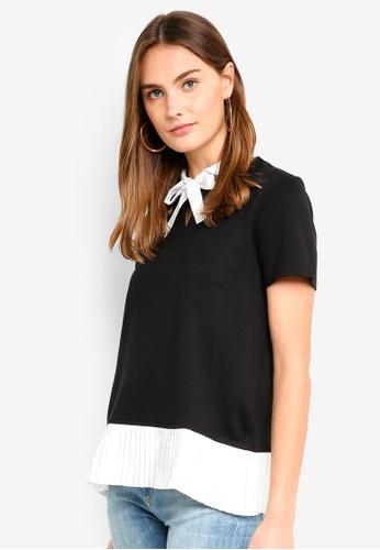 ESPRIT black Short Sleeve Top 139AEAA3DFE747GS_1