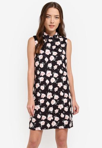 Something Borrowed black Button Up Sleeveless Shirt Dress A34A1AA51AA5BCGS_1