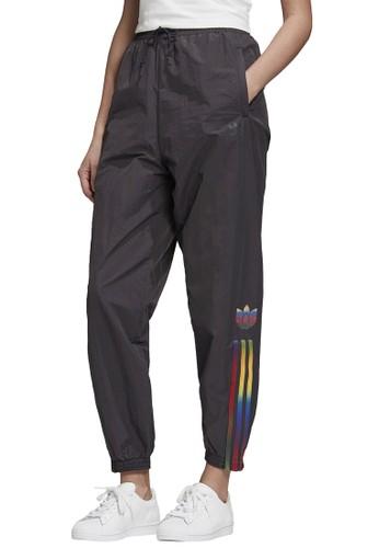ADIDAS black trackpants 81539AA88C5A91GS_1
