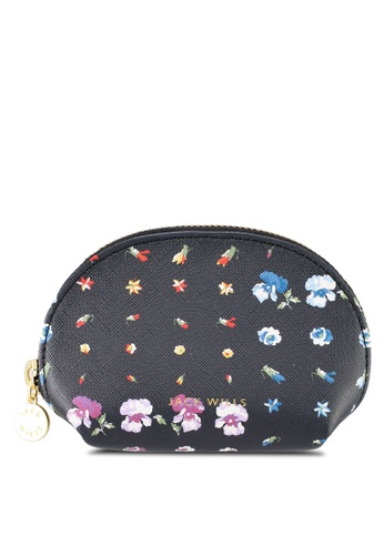 Jack Wills black and multi Bushley Coin Purse 8EBC6ACF3C3A08GS_1