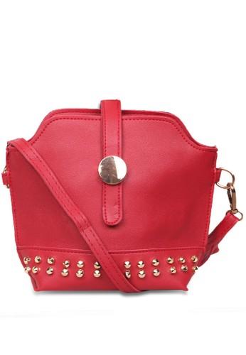 Quincy Label red Tas Selempang Wanita Geneva - Red 7AF80ACF26FBD2GS_1