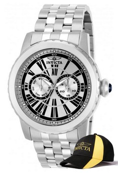 Specialty Men 50mm Case Watch 14586 with FREE Baseball Cap