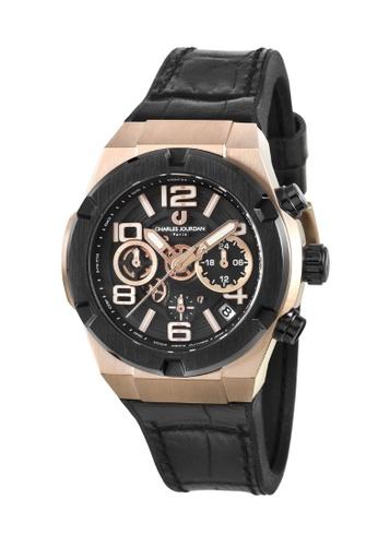 Charles Jourdan gold Charles Jourdan Men Watch Chronograph 38mm CJ1089-3535C 34B3BACCE59570GS_1