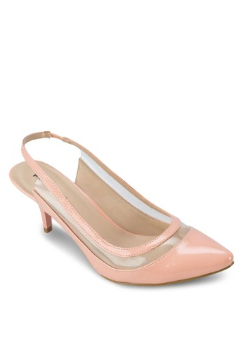 Madelyn 露跟踝帶中跟鞋, esprit mongkok女鞋, 中跟
