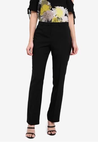 Dorothy Perkins black Black Slim Boot Cut Trousers DO816AA0RQUJMY_1