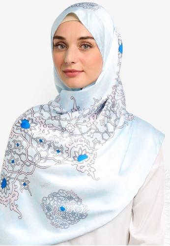 The Ciks blue Mediterranean In Morocco Shawl F0C76AA096B5AFGS_1