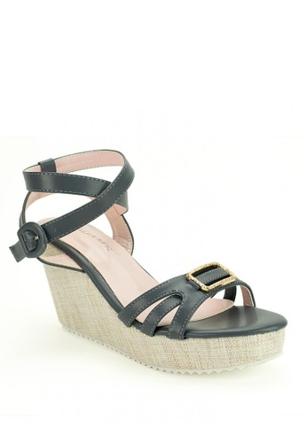 Cardam's Lifestyle grey Ophelia Wedges 17802SH580A942GS_1