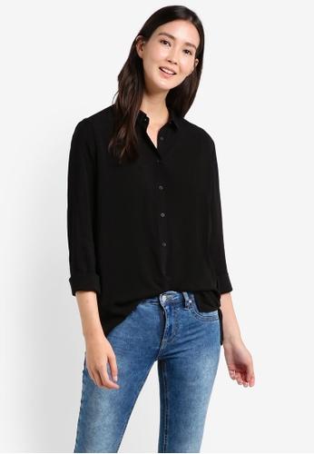 Cotton On black Rebecca Shirt CO372AA55JOYMY_1