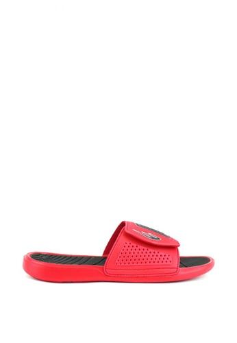World Balance red Aero Glide MS Sandals & Flip Flops 54DF3SH937C63CGS_1