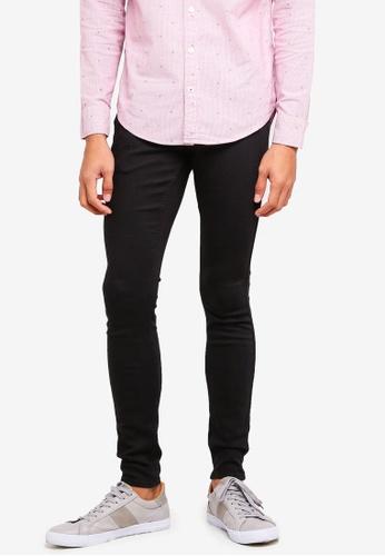 Hollister black Skinny Black Jeans 586BCAA86FE067GS_1