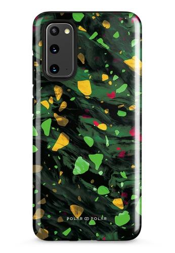 Polar Polar green Malachite Terrazzo Gem Dual-Layer Tough Case Glossy For Samsung Galaxy S20 5G 9E788AC6F3E13DGS_1