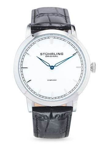 Stuhrling Original black and silver Symphony 779 Watch B3FBAACB9E871DGS_1
