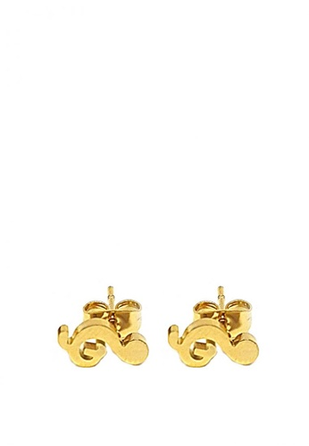 Jewelplace Gold Stainless Steel Earrings 4bccbac4a65232gs 1