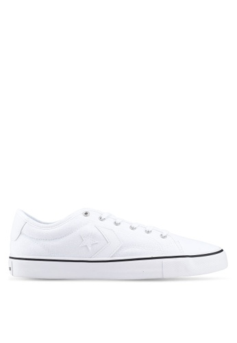 59994eae5b92 Converse white Star Replay Star Of The Show Ox Sneakers 765ABSH6FF0C6FGS_1