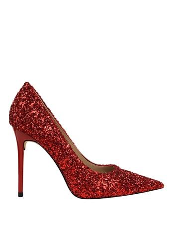 Twenty Eight Shoes 紅色 閃片晚裝及新娘鞋 VP92191 8164BSH2BB727CGS_1