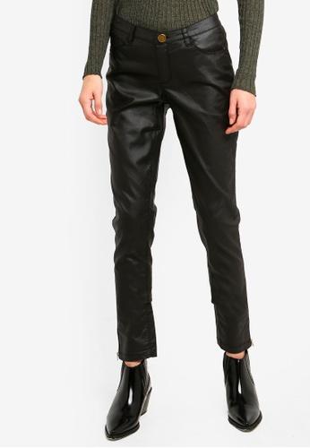 Brave Soul black Coated Five Pocket Western Jeans EDE9CAAABF8216GS_1