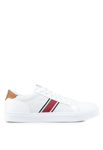 River Island white Seattle Mesh Side Trainers A8CAESH3A6963DGS_1