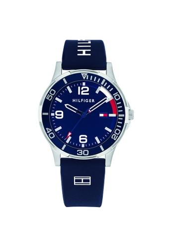 Tommy Hilfiger blue Tommy Hilfiger Blue Kid's Watch (1720016) B57FFKC6F24C41GS_1