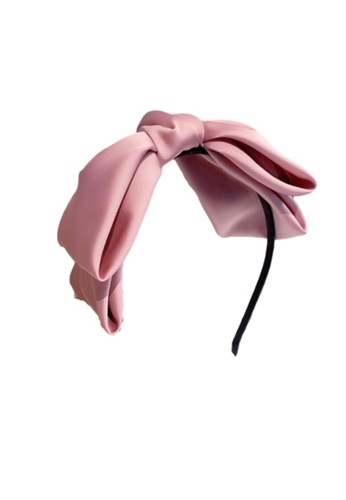 Kings Collection pink Pink Bow Headband (HA20060) C25D1ACECA2998GS_1