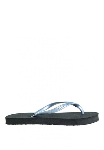 BENCH black Rubber Slippers BE550SH0KGPMPH_1