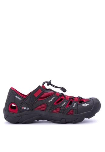 Krooberg red and multi Rambler Shoes B4CC3SHBA2B79FGS_1