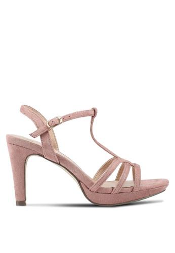 Carlton London beige Strappy Heels AD3F3SH2ABD629GS_1