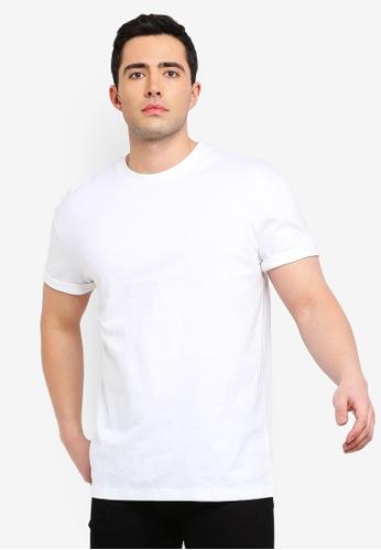 3235343757eb12 Topman white White Oversized T-Shirt C8CE2AA6F940CCGS 1