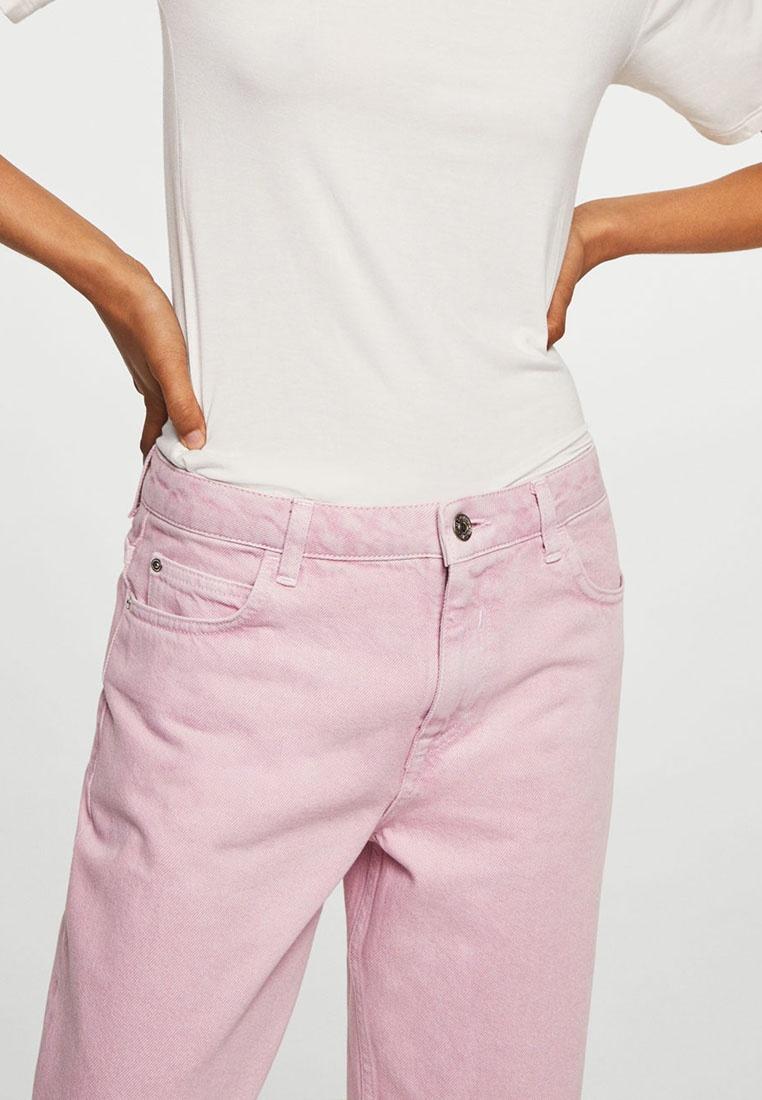 Straight Pink Mango Pastel Jeans Light Purple Denim 1OnZwa