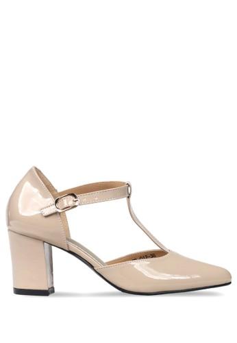 CLAYMORE beige Claymore sepatu high heels ED 012 Cream 7A1BESHA85EB1CGS 1 b853e07db8