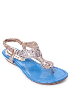 Thong Style Flat Sandals