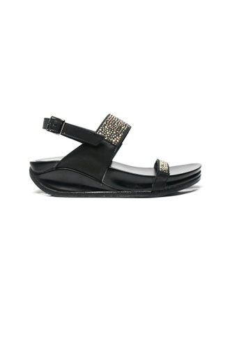 Ohrelle black Rizza Flip Flops by Floppies by Ohrelle OH449SH19QJWPH_1