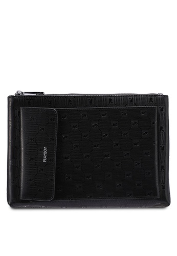 Playboy black Playboy Clutch Bag 053BEAC97923A7GS_1