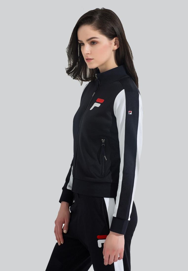 Zip FILA Heritage Knit Jacket Navy WBqa1ROB8T