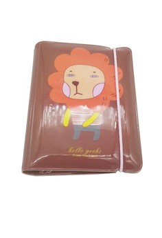 Brown Lion Card Case