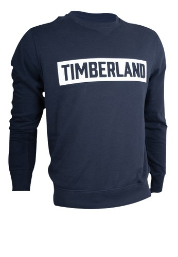Timberland navy Timberland Emboshed Logo Sweat Dark Saphire-TB0A2BHY433 68B19AAB57A7DAGS_1