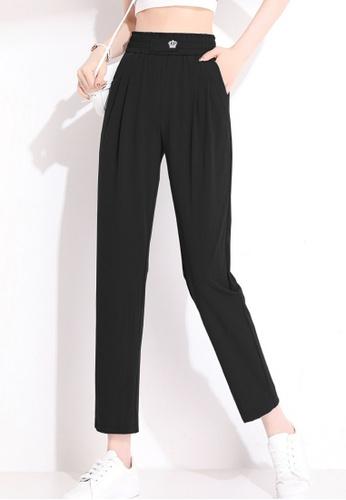 Twenty Eight Shoes black VANSA Comfortable Modal Casual Pants  VCW-P2161 09232AA0B35924GS_1