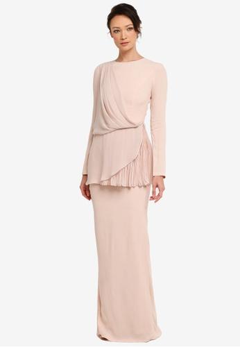 NH by NURITA HARITH pink Arlea Kurung Modern 19CF5AA913B674GS_1