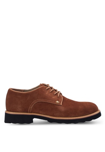 Knight brown Casual Lace Up Shoes KN875SH99AAYMY_1