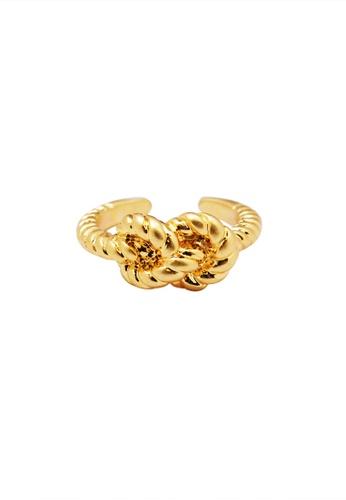SKEDA gold Sailor's Knot Ring 7CBB6AC4786D7BGS_1