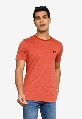 Jack & Jones red Schultz Turk Short Sleeves Crew Neck Tee 7E6DEAA8F25D1BGS_1