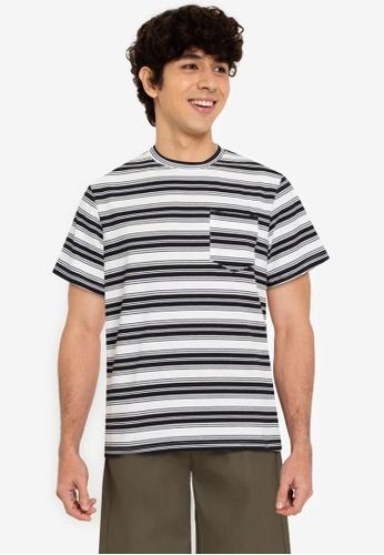 ZALORA BASICS multi Various Stripes T-Shirt 9EEE9AA0F4DC78GS_1