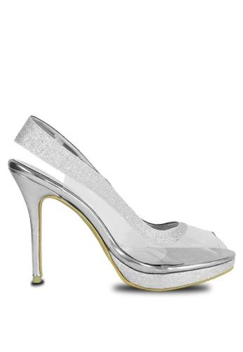 c46ec27a8e5 Jacque silver Arma Silver Heel 6095BSH553572FGS 1