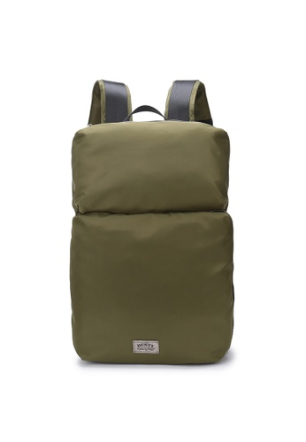 DUSTY green Multi-functional compartment Backpack E0DB4AC0A42B9EGS_1