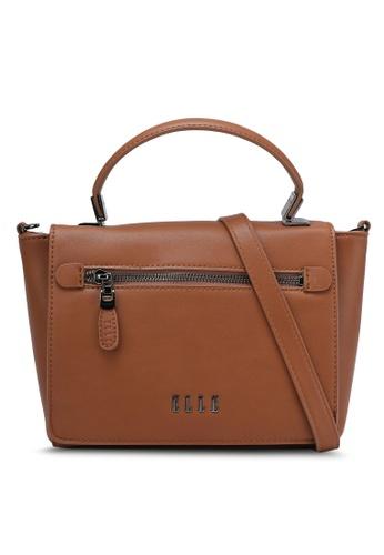 ELLE brown Raina Sling Bag EL900AC0ROMTMY_1