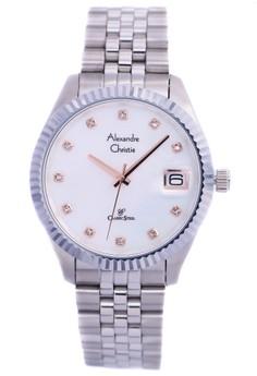 harga Alexandre Christie 5006 - Jam Tangan Pria - Strap Stainless Steel - Silver Zalora.co.id