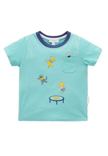 Purebaby blue Bouncing T Shirt F82FBKA496C45DGS_1