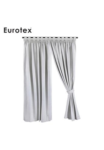 Eurotex Eurotex, Blackout Curtain, Block 100% Sunlight, 3 Ways Hanging Options (1 Piece) ZJM247 A086AHL6AF39C6GS_1