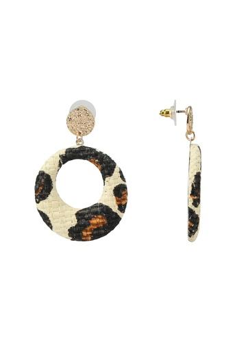 Rubi multi and gold Kayla Animal Earrings 647DFAC971C7F9GS_1