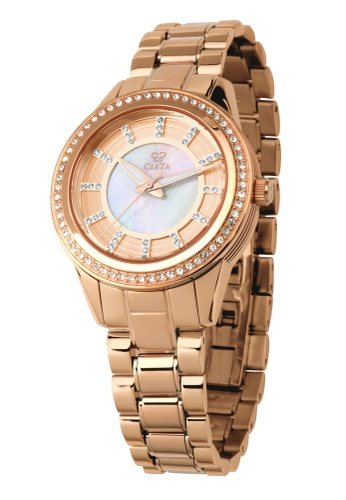CLETA gold Diletto Watch CL733AC71FUIPH_1