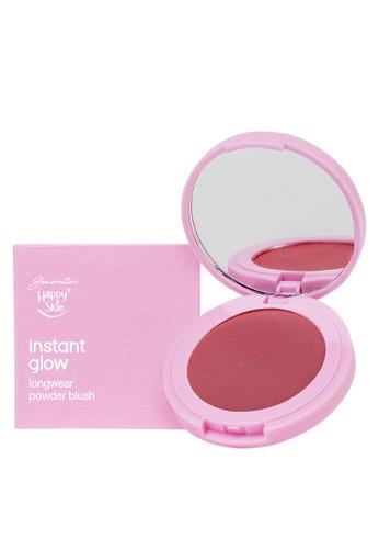 Happy Skin pink Instant Glow Longwear Powder Blush in Love F135DBE9F9AF2AGS_1